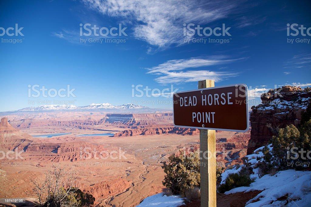 Dead Horse Point, Utah royalty-free stock photo