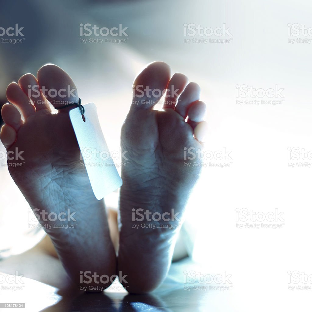 dead man stock photo