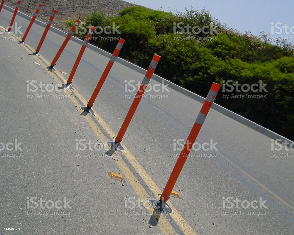 dead man's curve 01 royalty-free stock photo