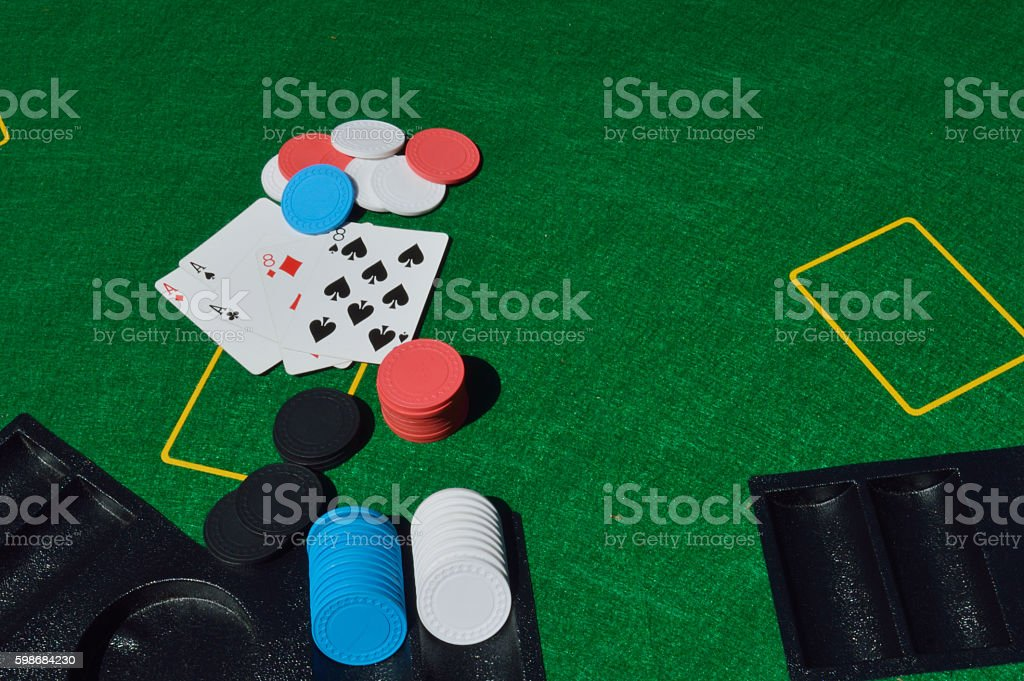 dead mans hand stock photo