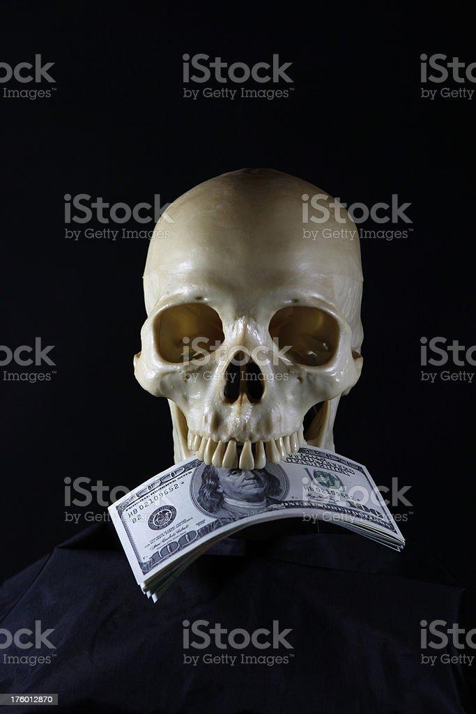 Dead Money stock photo