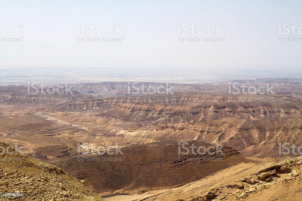 Dead sea cliffs . stock photo