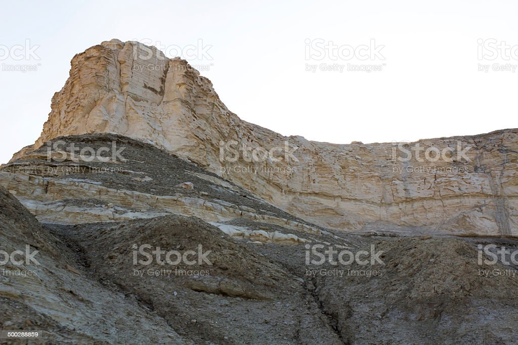 dead sea cliffs royalty-free stock photo