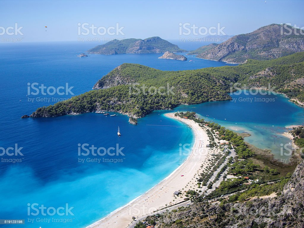 Dead Sea in Turkey stock photo