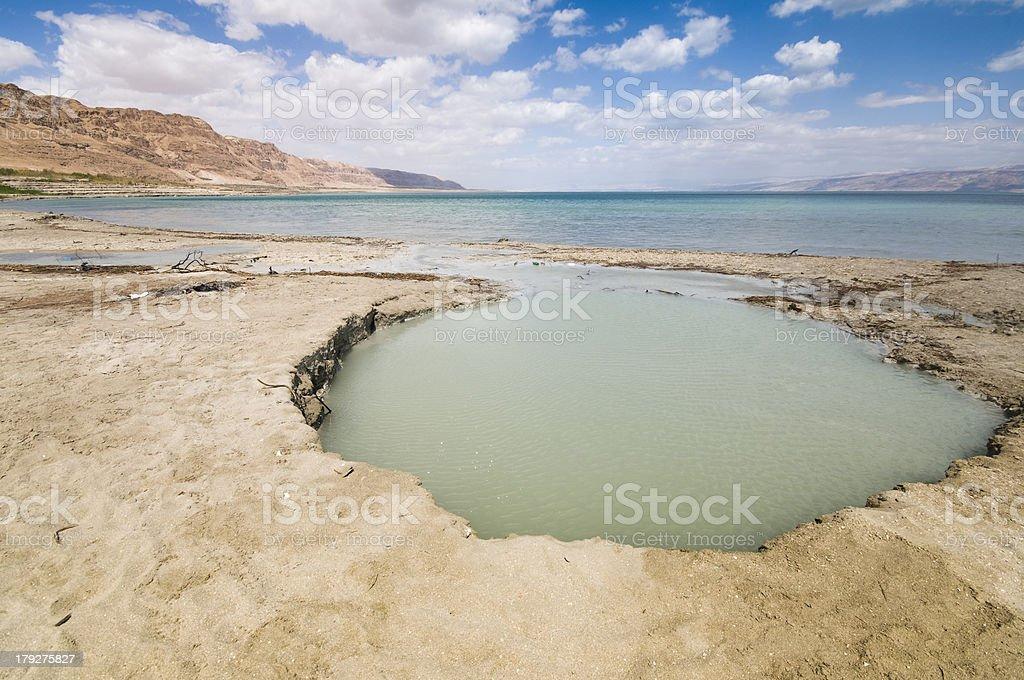 Dead sea, Israel royalty-free stock photo