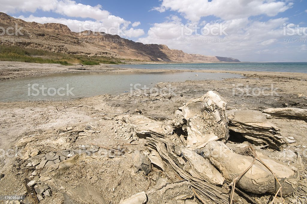Dead sea, Israel royalty-free stock photo