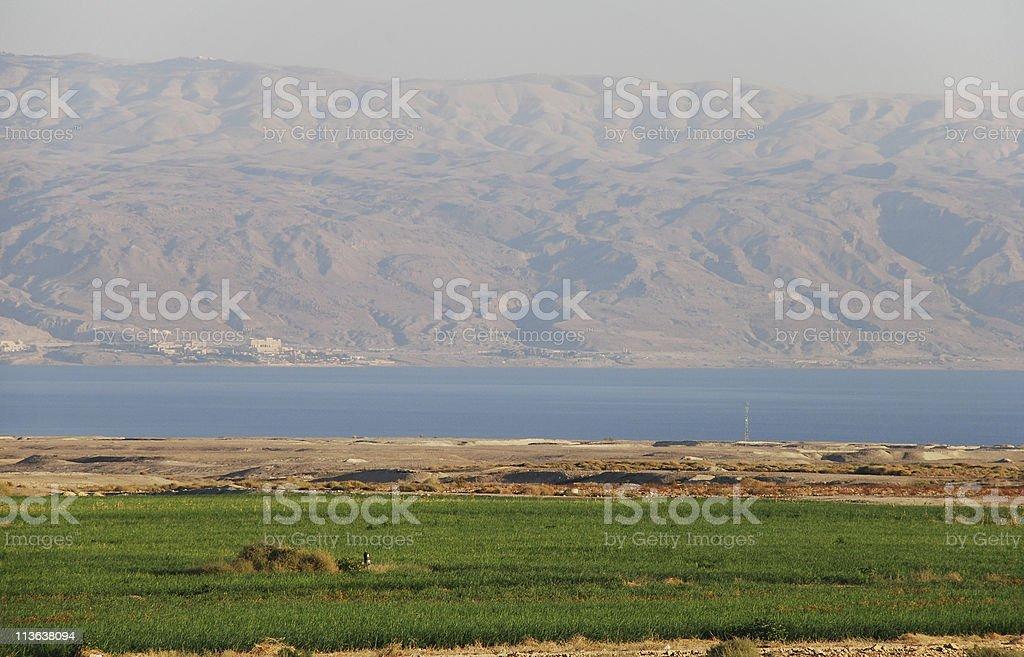Dead Sea Landscape royalty-free stock photo