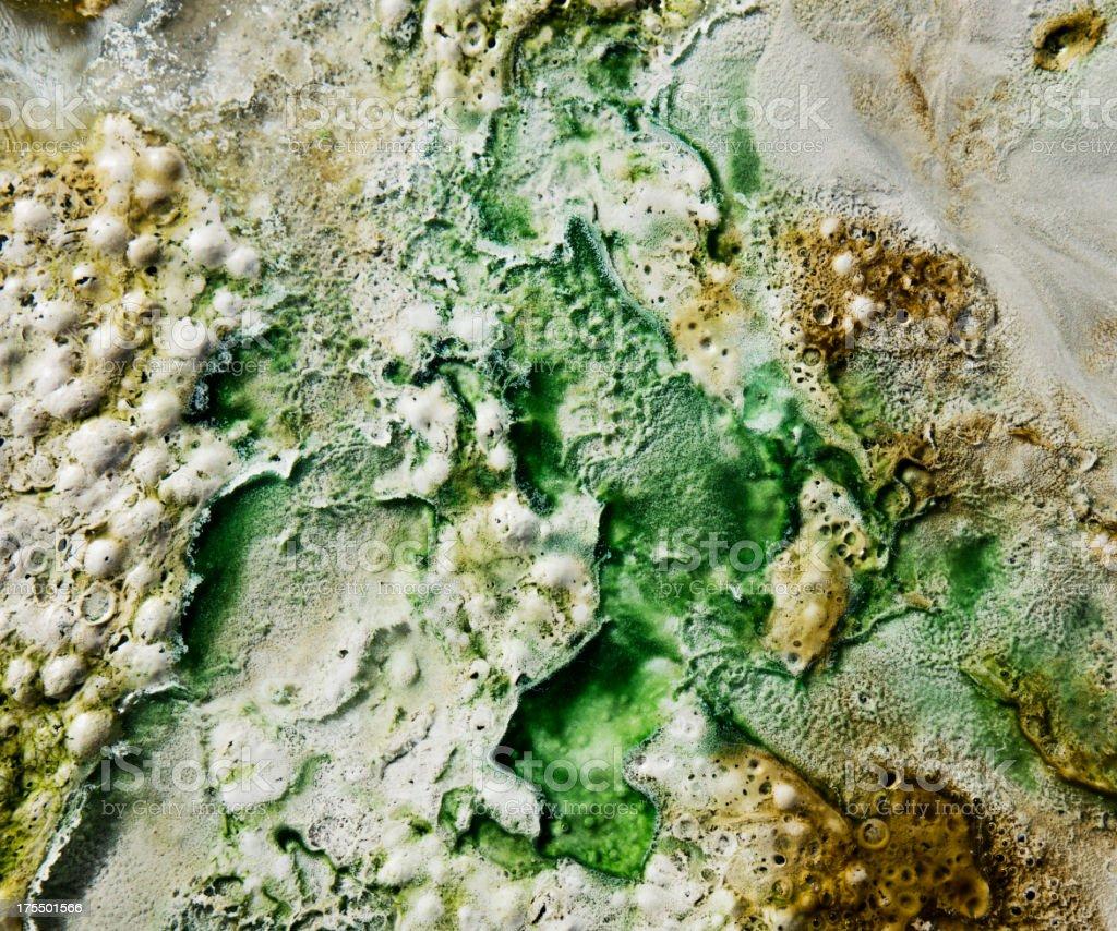 Dead Sea Minerals stock photo