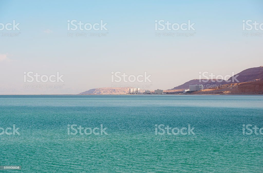 Dead Sea. stock photo