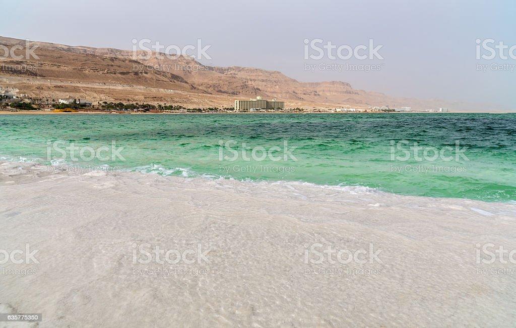 Dead Sea the landscape stock photo