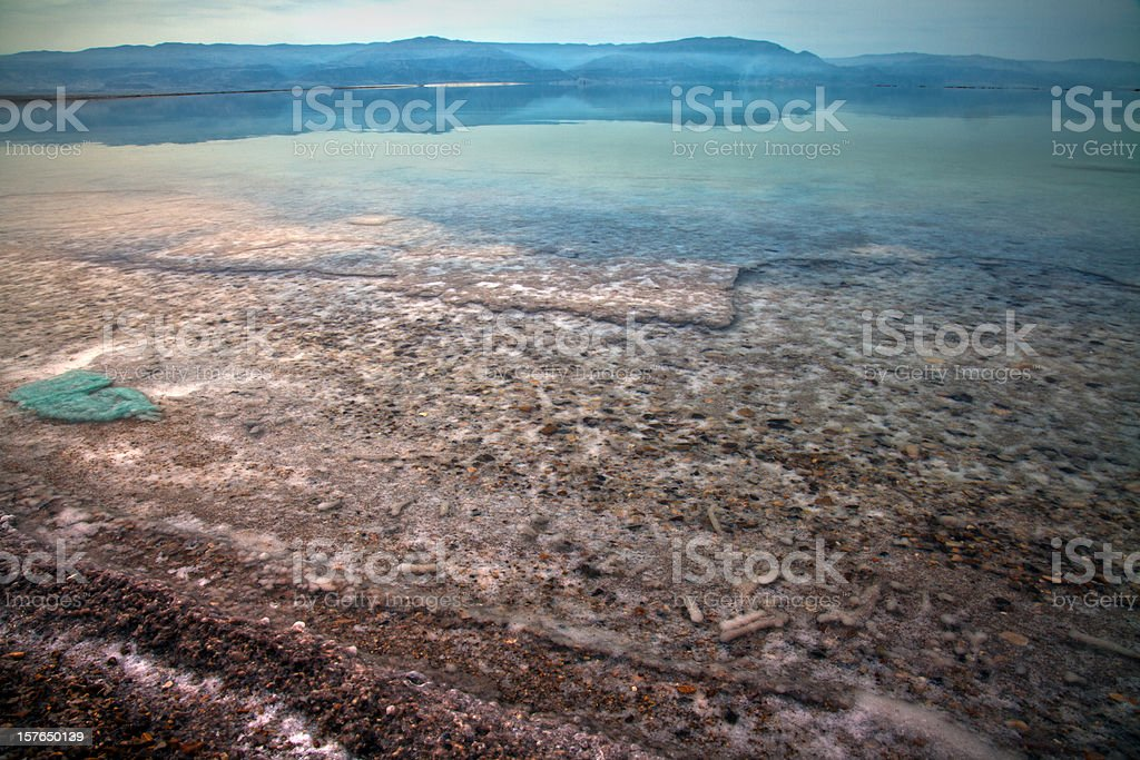 Dead Sea Water Surface royalty-free stock photo