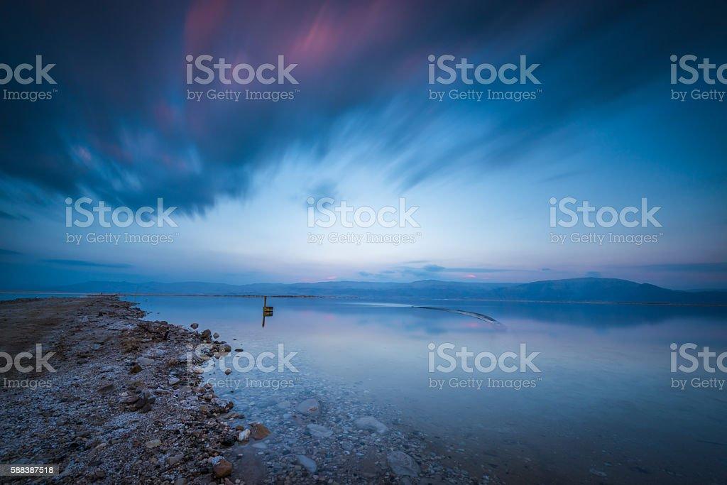 Dead sea world... stock photo