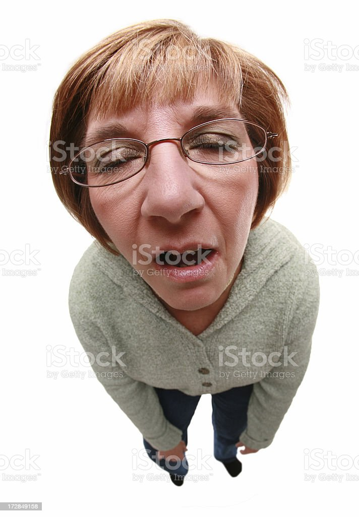 Dead Tired stock photo