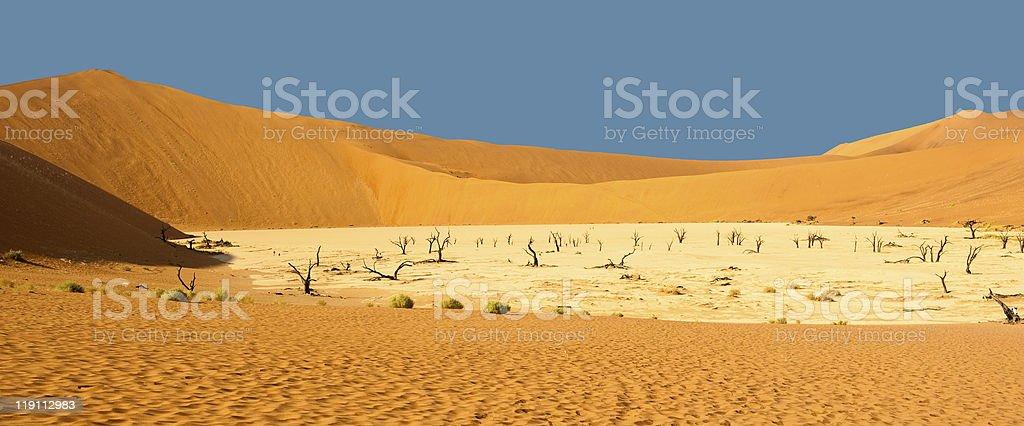 Dead Vlei, Sossuvslei, Namib Desert stock photo