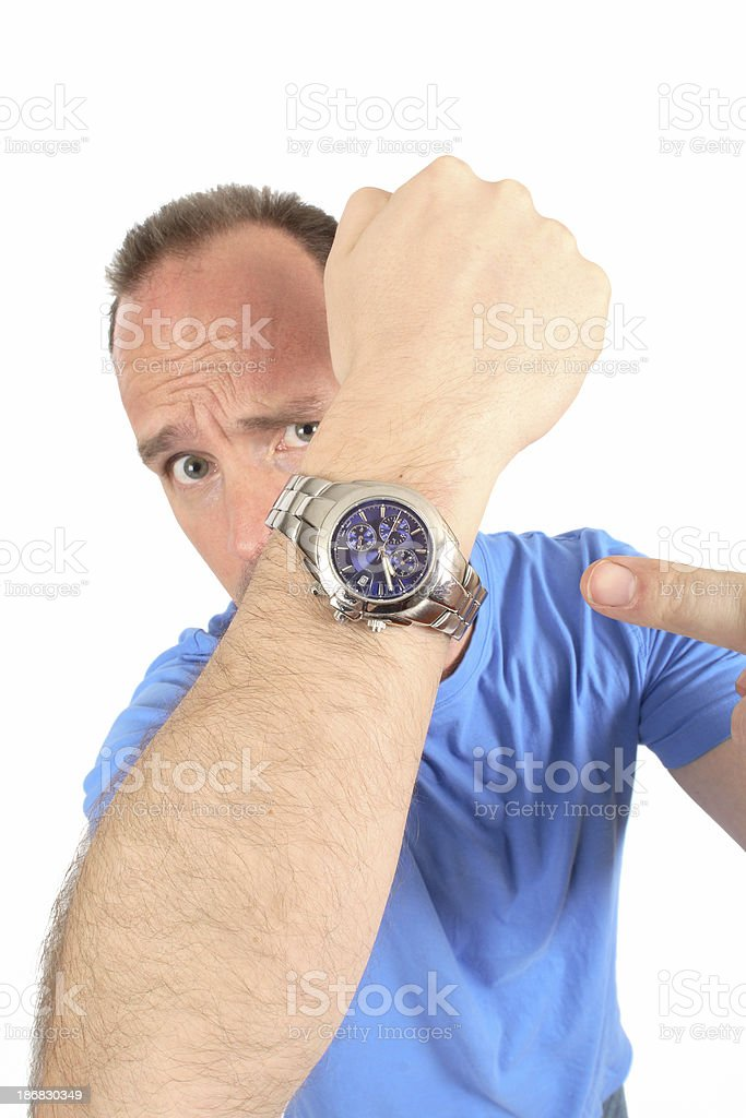 Deadline Approaching royalty-free stock photo