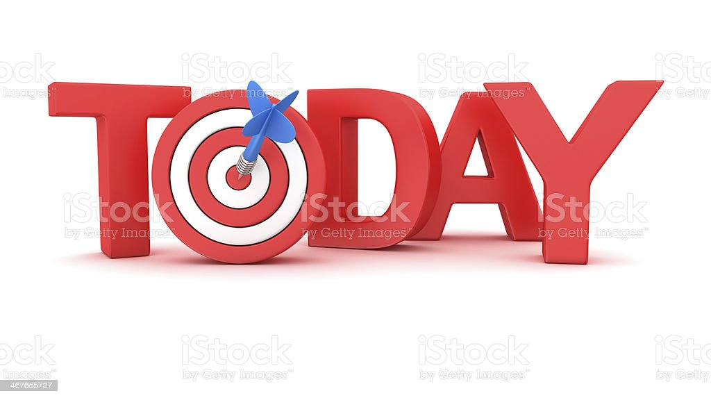 Deadline concept stock photo