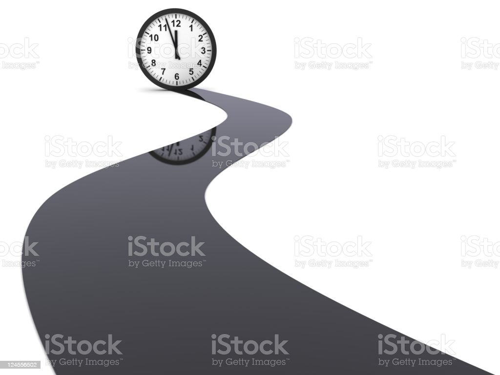 Deadline is Coming royalty-free stock photo