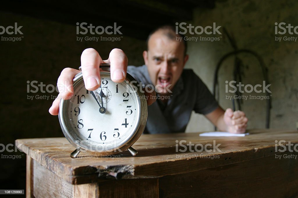 Deadline time royalty-free stock photo