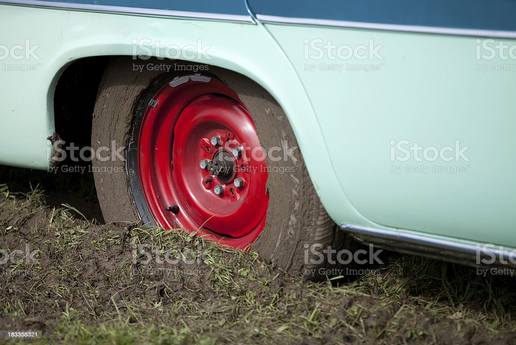 deadlocked car stock photo