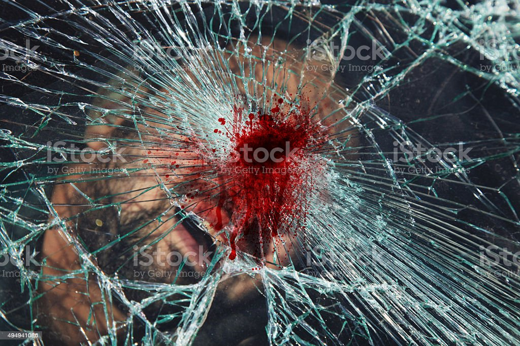 Deadly Accident ! stock photo
