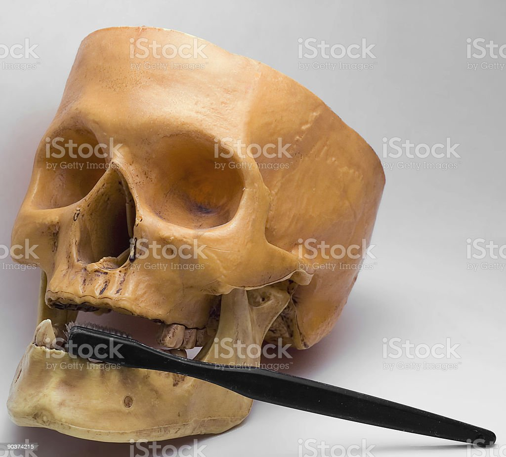 Deadly dentistry stock photo