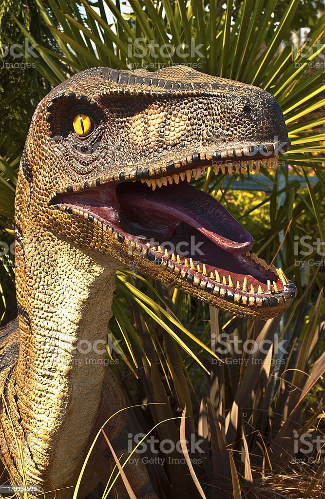 Deadly Dinosaur stock photo