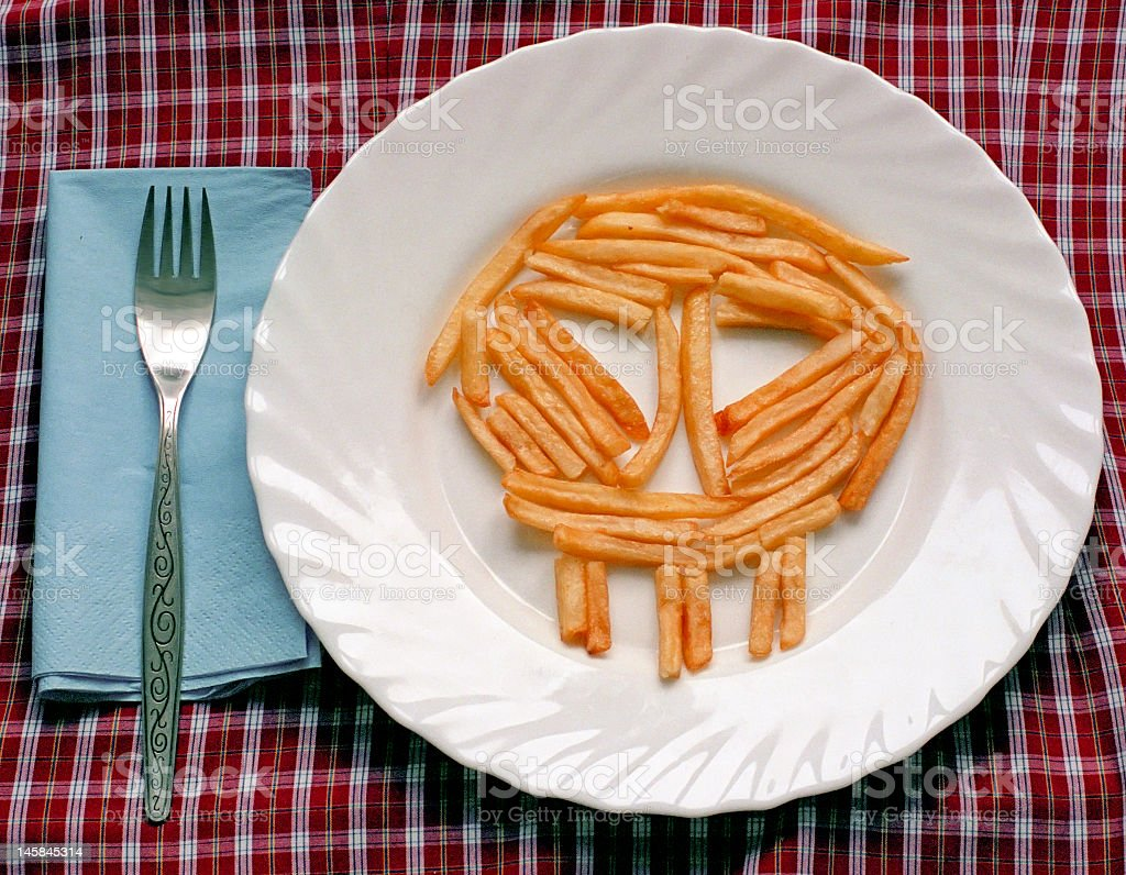 deadly food stock photo