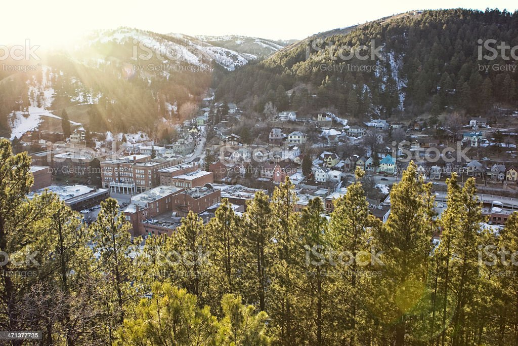 Deadwood, South Dakota stock photo