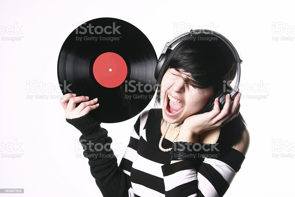 Deafening music royalty-free stock photo