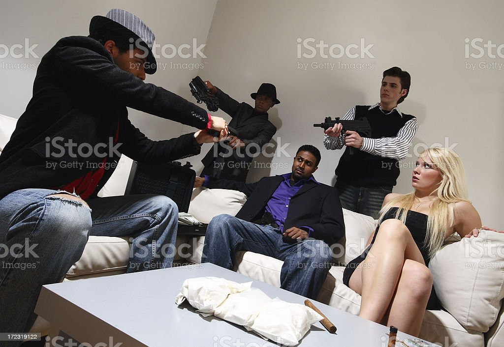 Deal Gone Bad stock photo