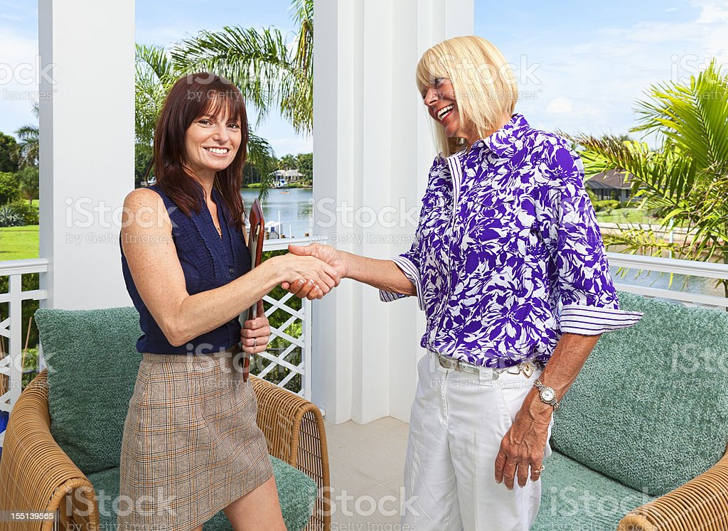 Deal Maker royalty-free stock photo