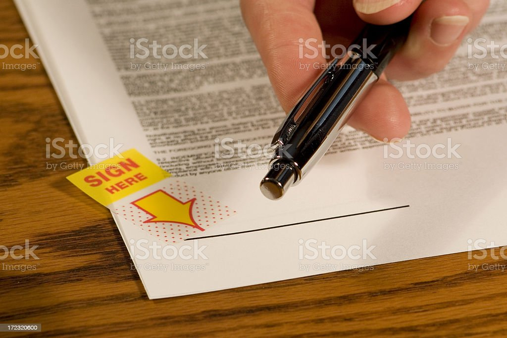 Deal stock photo