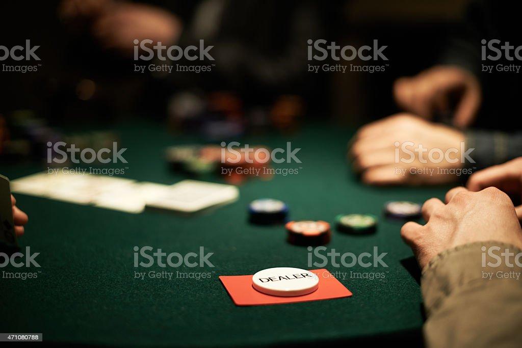 Dealer stock photo