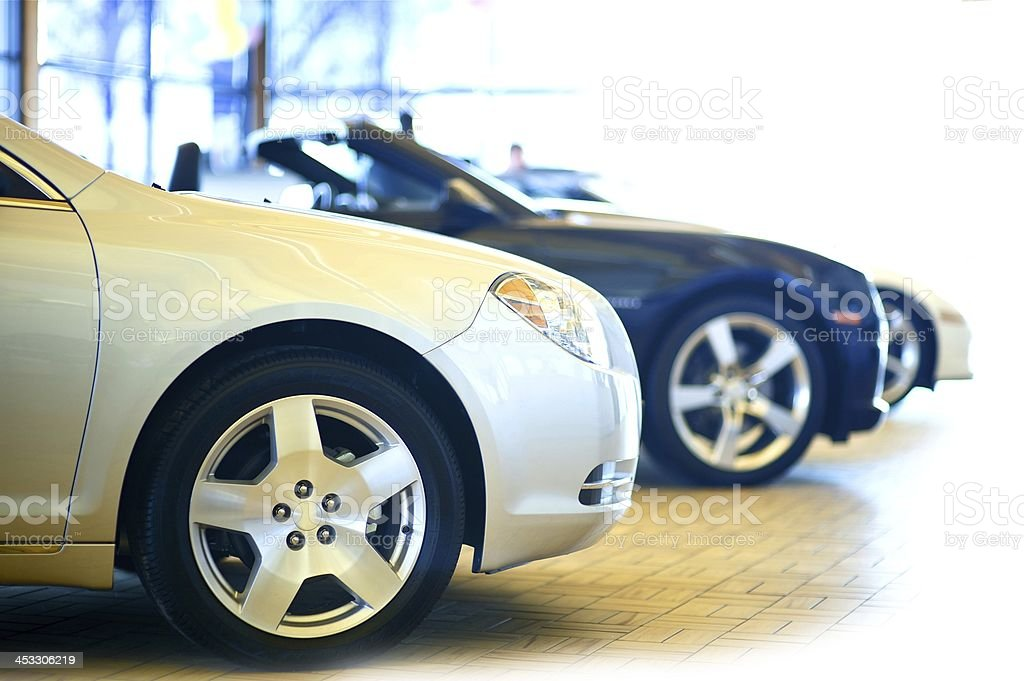 Dealership Showroom stock photo