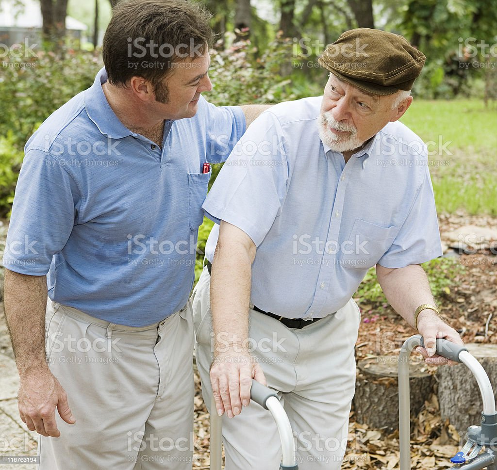 Dealing With Dementia royalty-free stock photo