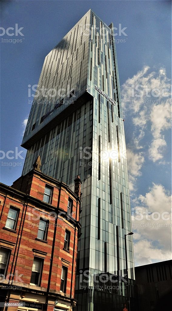 Deansgate number 303  Manchester stock photo