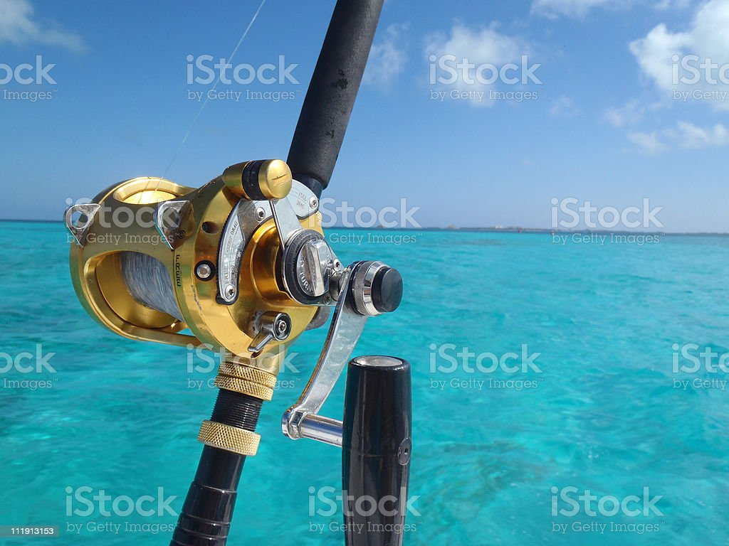 Deap Sea Fishing royalty-free stock photo