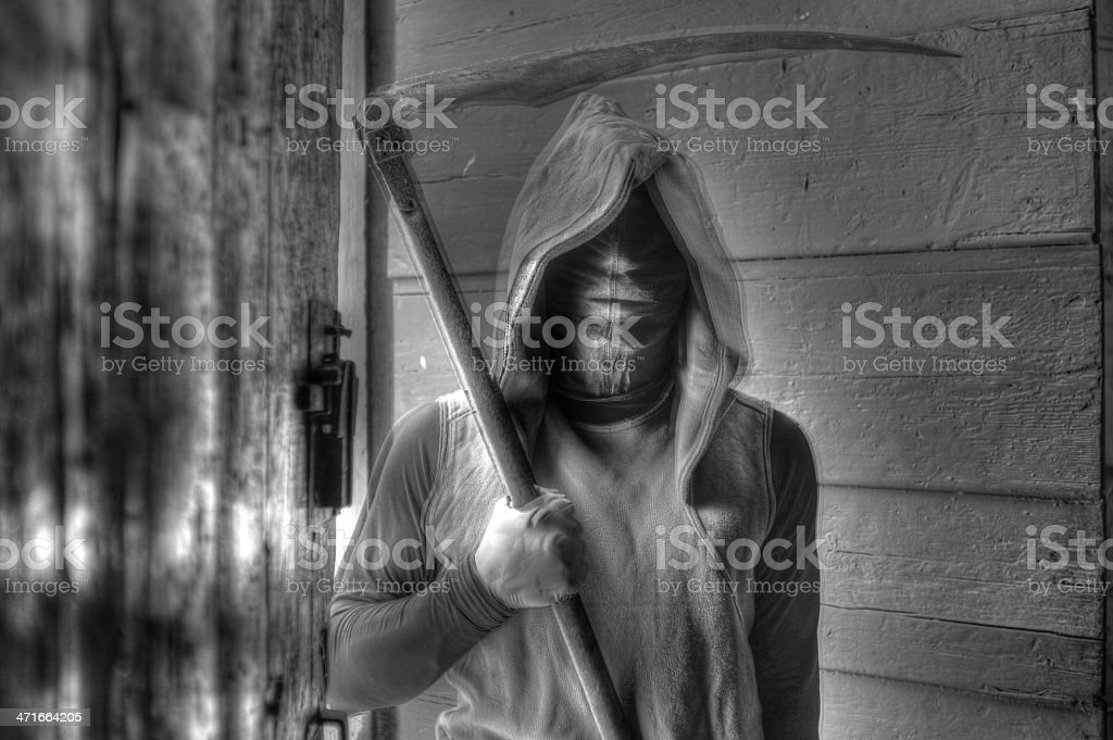 Death Approaching royalty-free stock photo