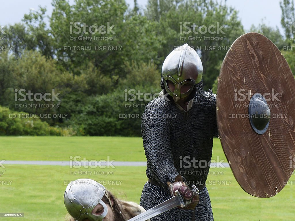 Death blow royalty-free stock photo