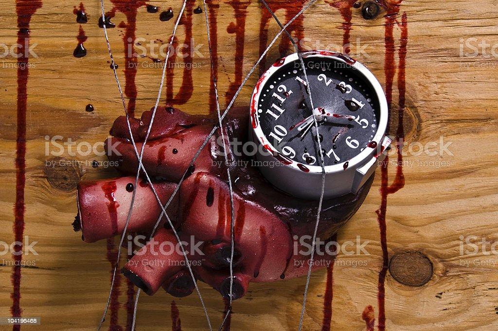 Death Clock royalty-free stock photo