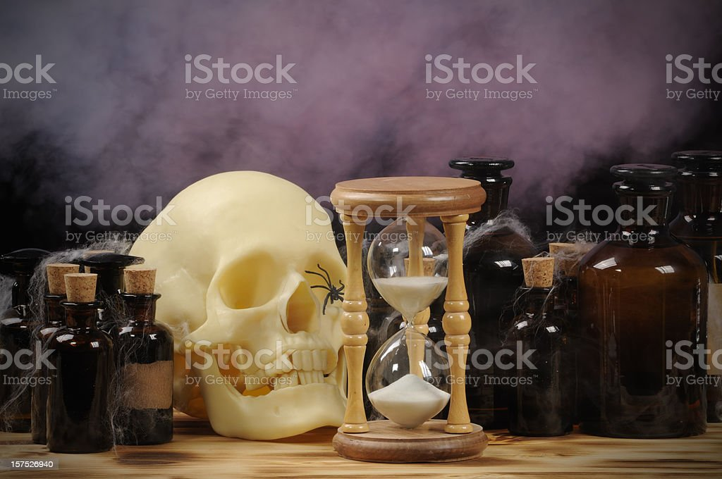 Death Clock (Hourglass Ver.) royalty-free stock photo