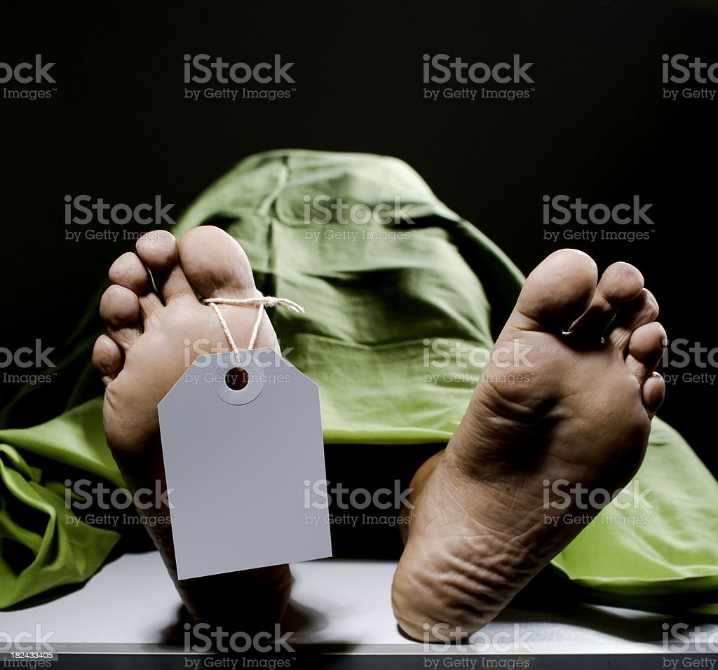 death man stock photo
