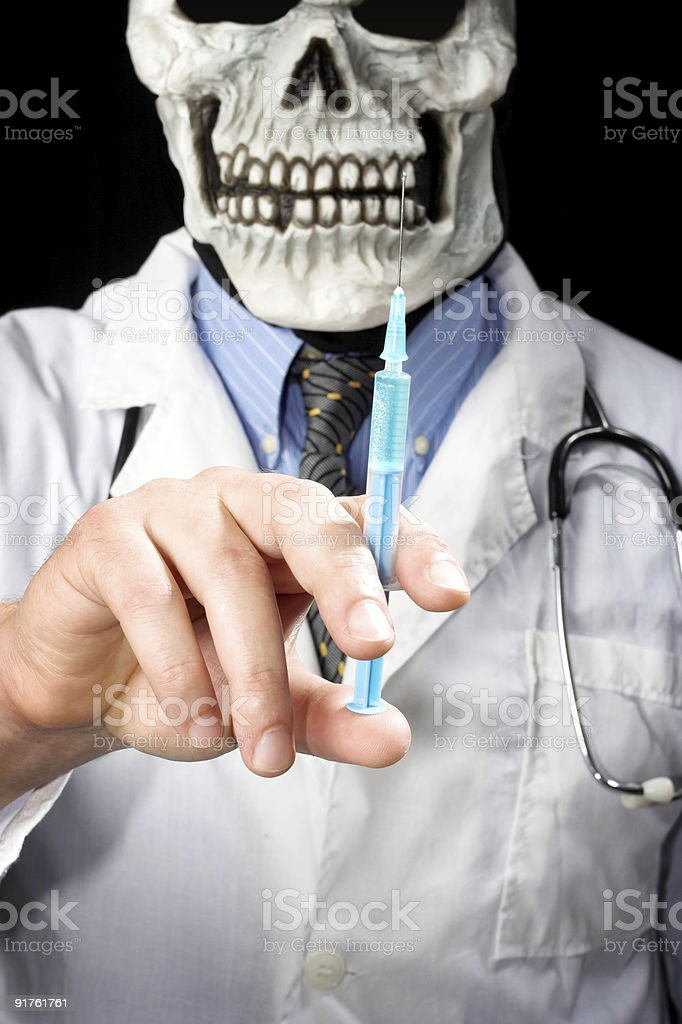 Death MD royalty-free stock photo