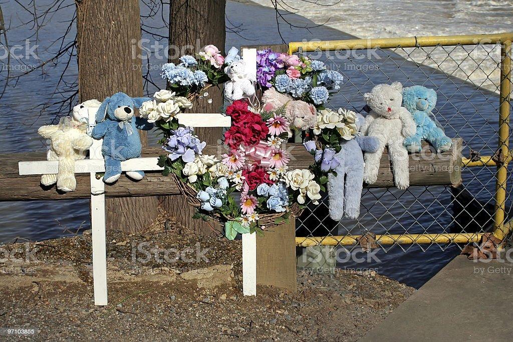 Death Memorial royalty-free stock photo