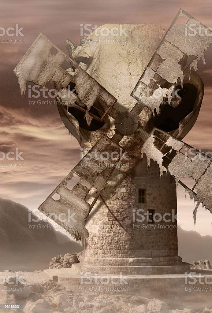 Death Mill 3000 stock photo
