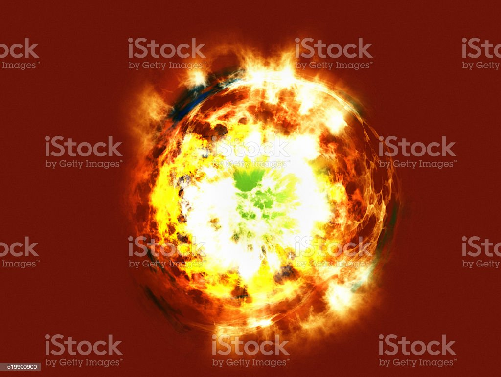 Death of a Star stock photo