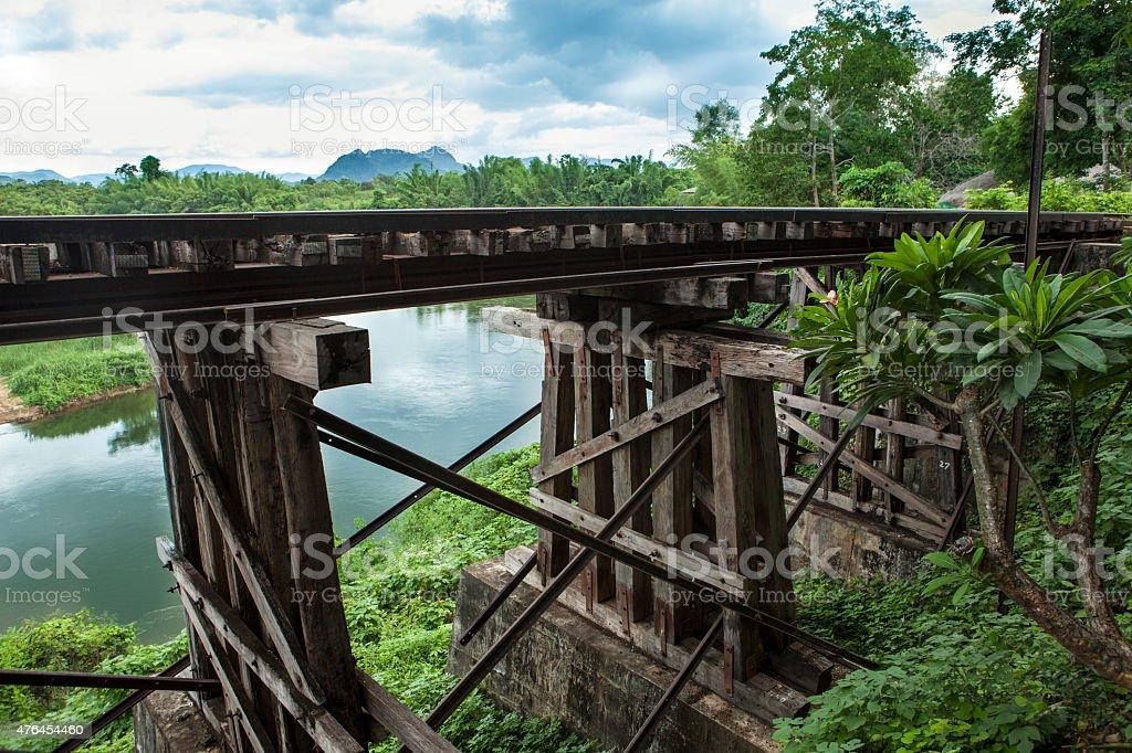 Death railway stock photo