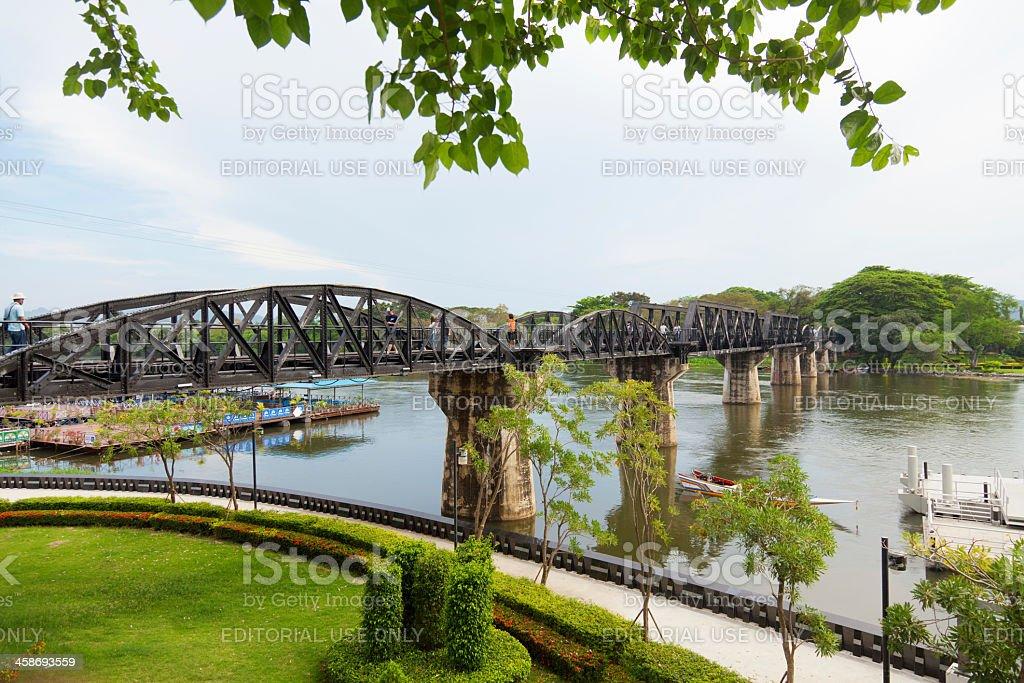 Death Railway, Thailand royalty-free stock photo