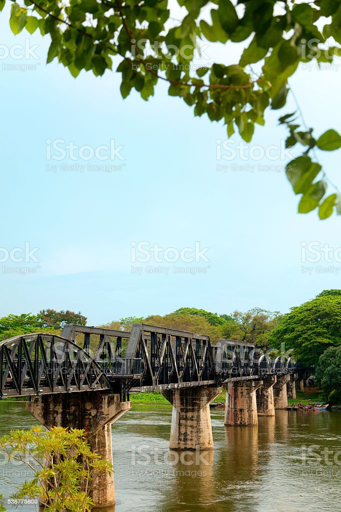Death Railway, Thailand stock photo