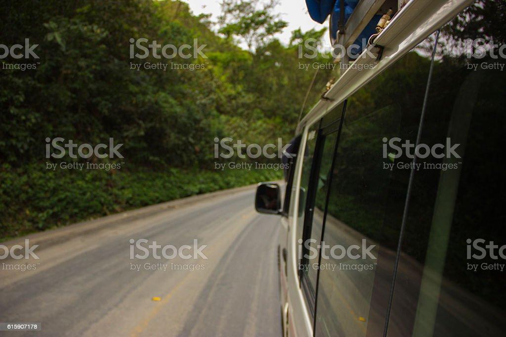 Death Road, Bolivia stock photo
